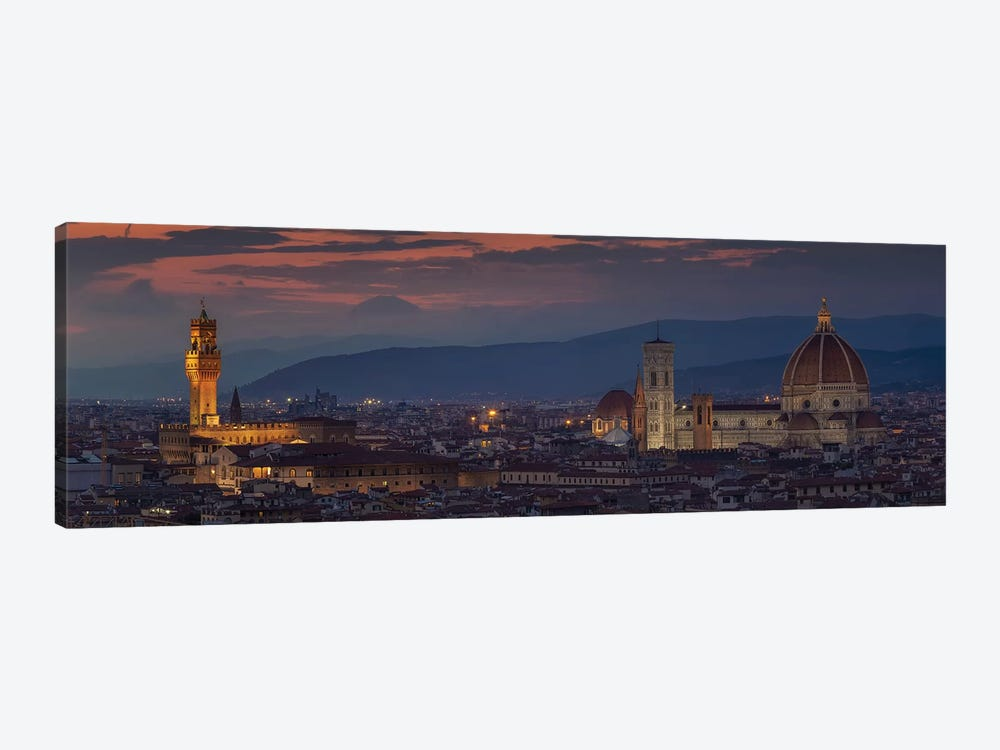 Florence by Sergio Lanza 1-piece Canvas Print
