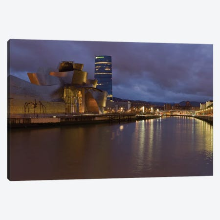 Guggenheim, Bilbao, Spain Canvas Print #LNZ131} by Sergio Lanza Canvas Artwork