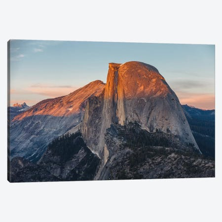 Half Dome Canvas Print #LNZ132} by Sergio Lanza Canvas Art