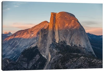 Half Dome Canvas Art Print