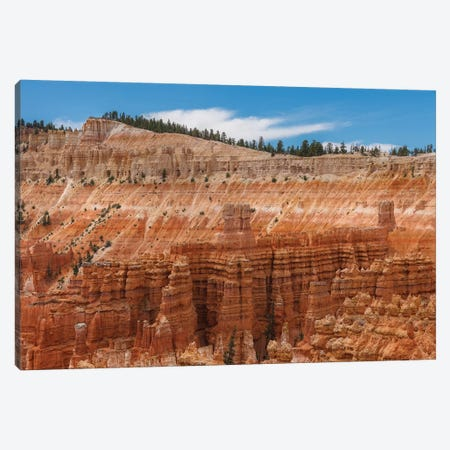 Hoodoos Canvas Print #LNZ136} by Sergio Lanza Canvas Art Print
