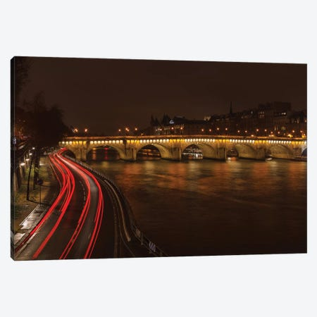 La Conciergerie At Night Canvas Print #LNZ140} by Sergio Lanza Canvas Print
