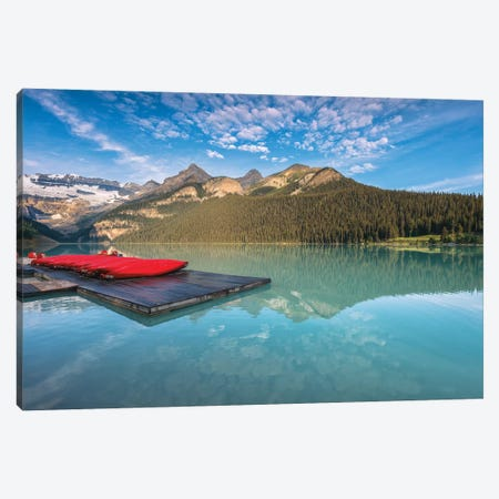 Lake Louise Beauty Canvas Print #LNZ141} by Sergio Lanza Art Print