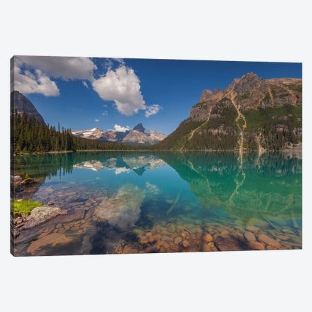 Lake O'Hara, British Columbia, Canada I Canvas Print #LNZ142} by Sergio Lanza Canvas Print