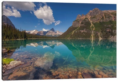Lake O'Hara, British Columbia, Canada I Canvas Art Print
