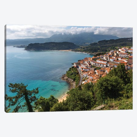 Lastres, Spain Canvas Print #LNZ145} by Sergio Lanza Canvas Artwork