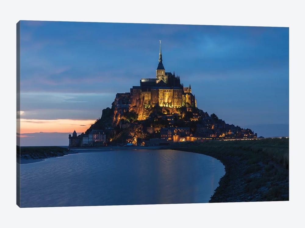 Le Mont-Saint-Michel by Sergio Lanza 1-piece Canvas Wall Art