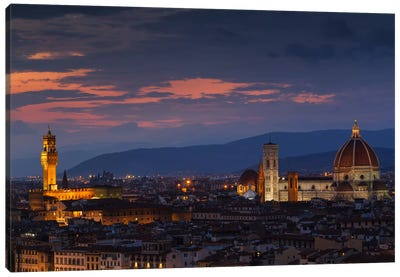 Firenze Canvas Art Print