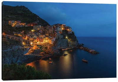 Manarola, Italy Canvas Art Print
