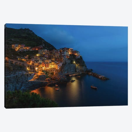 Manarola, Italy Canvas Print #LNZ161} by Sergio Lanza Canvas Art Print