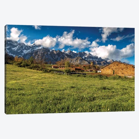 Mogrovejo, Spain Canvas Print #LNZ163} by Sergio Lanza Art Print