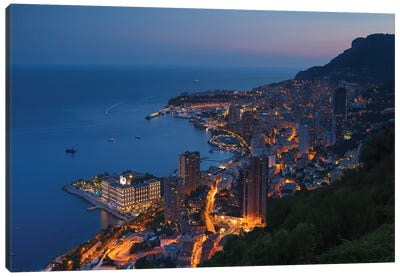 Monte Carlo Canvas Art Print