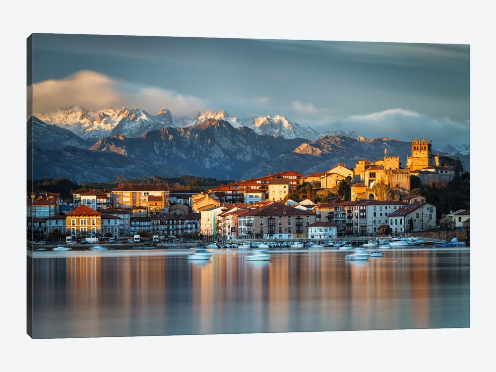 From The Mountains To The Sea by Sergio Lanza 1-piece Canvas Art Print