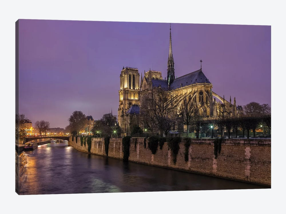 Notre Dame by Sergio Lanza 1-piece Canvas Print
