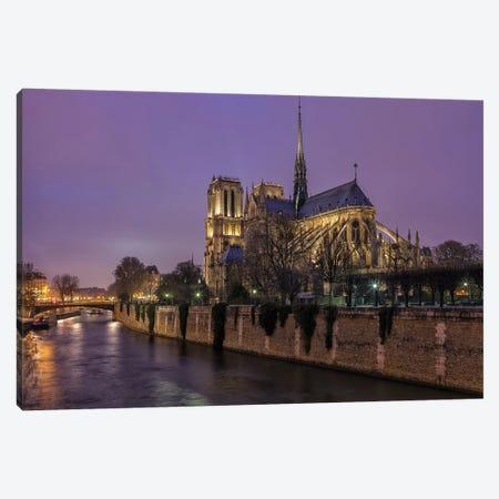 Notre Dame 3-Piece Canvas #LNZ171} by Sergio Lanza Canvas Art