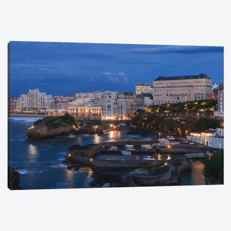 Old Biarritz, France Canvas Print #LNZ172} by Sergio Lanza Canvas Artwork