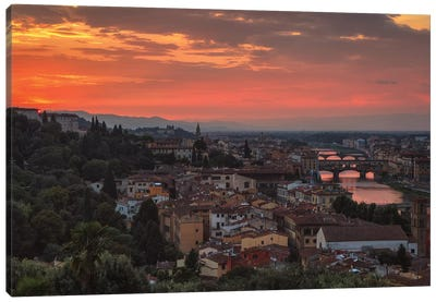 Old Florence Canvas Art Print