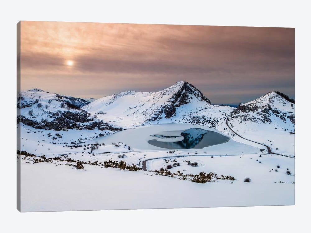 Frozen Lake by Sergio Lanza 1-piece Canvas Art