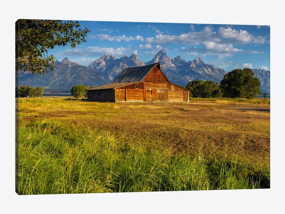 Grand Teton Barn by Sergio Lanza 1-piece Canvas Art Print
