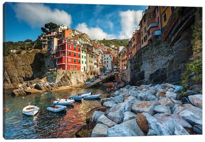 Riomaggiore Colors Canvas Art Print
