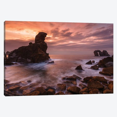 Rocky Nights Canvas Print #LNZ191} by Sergio Lanza Canvas Art