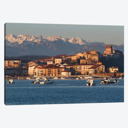 San Vicente de la Barquera, Spain I Canvas Print #LNZ192} by Sergio Lanza Canvas Artwork