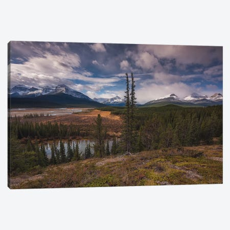 Saskatchewan 3-Piece Canvas #LNZ196} by Sergio Lanza Canvas Print