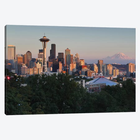 Seattle II Canvas Print #LNZ197} by Sergio Lanza Art Print