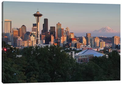 Seattle II Canvas Art Print