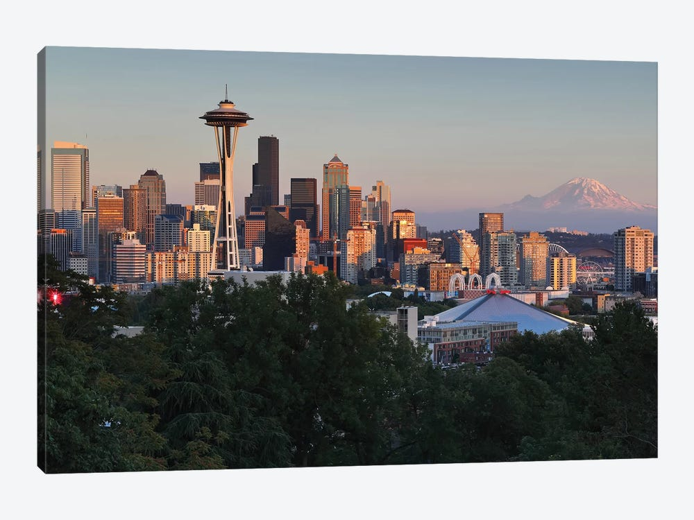 Seattle II by Sergio Lanza 1-piece Canvas Print