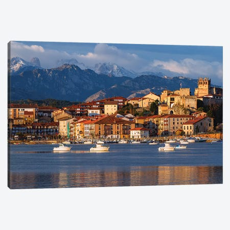Small Town Canvas Print #LNZ200} by Sergio Lanza Canvas Artwork