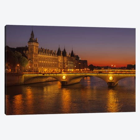 La Conciergerie Canvas Print #LNZ20} by Sergio Lanza Art Print