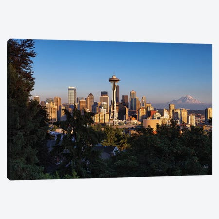 The Emerald City Canvas Print #LNZ213} by Sergio Lanza Canvas Art Print