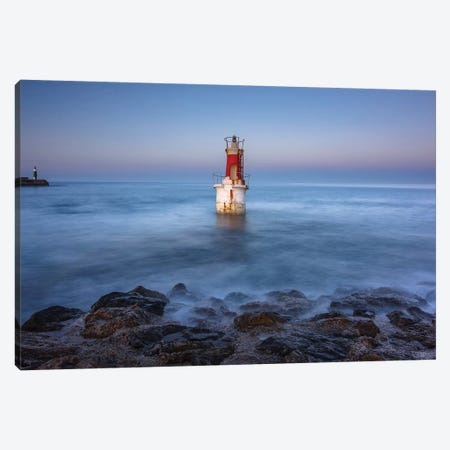 The Lighthouse Canvas Print #LNZ217} by Sergio Lanza Canvas Wall Art