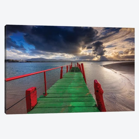 The Pier Canvas Print #LNZ218} by Sergio Lanza Canvas Print