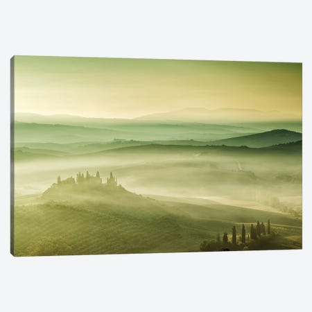 Tuscan Mist Canvas Print #LNZ225} by Sergio Lanza Canvas Art Print