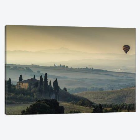 Tuscan Mornings Canvas Print #LNZ226} by Sergio Lanza Art Print