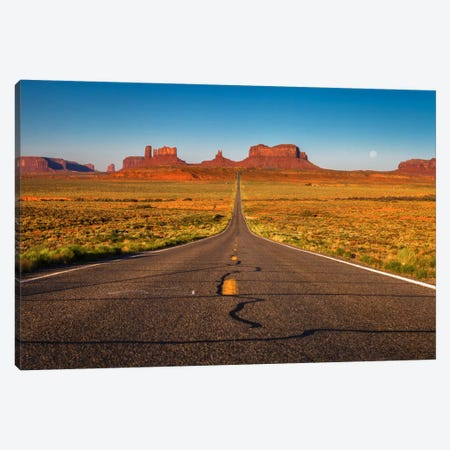 Long Road Canvas Print #LNZ22} by Sergio Lanza Art Print
