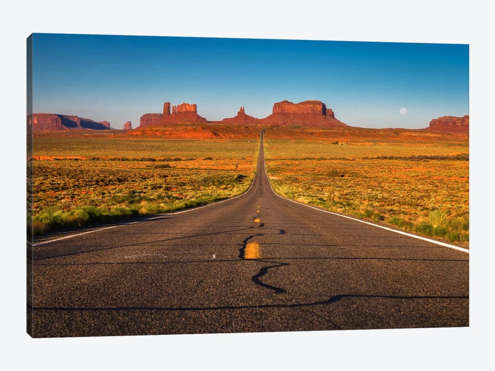 Long Road by Sergio Lanza 1-piece Canvas Wall Art