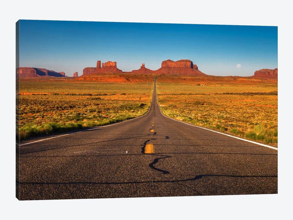 Long Road by Sergio Lanza 1-piece Canvas Wall Art