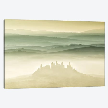Val d'Orcia, Tuscany Canvas Print #LNZ231} by Sergio Lanza Art Print
