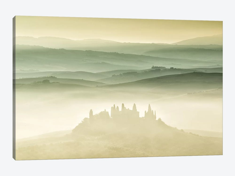Val d'Orcia, Tuscany by Sergio Lanza 1-piece Art Print