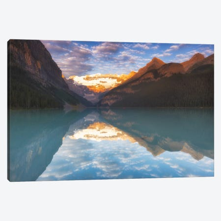 Magical Lake Louise Canvas Print #LNZ24} by Sergio Lanza Canvas Art