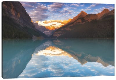 Magical Lake Louise Canvas Art Print