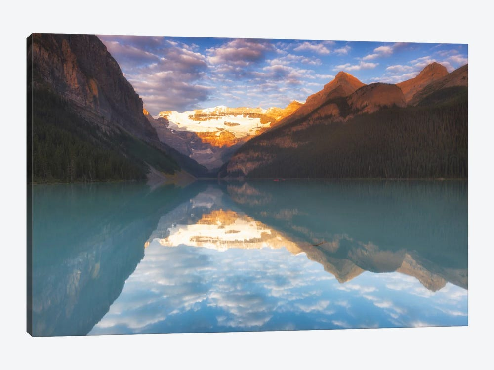 Magical Lake Louise by Sergio Lanza 1-piece Canvas Wall Art
