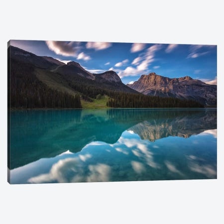 Yoho National Park, Canada Canvas Print #LNZ250} by Sergio Lanza Art Print