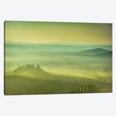 Magical Tuscany Canvas Print #LNZ25} by Sergio Lanza Canvas Art