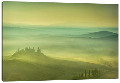 Magical Tuscany Canvas Art Print