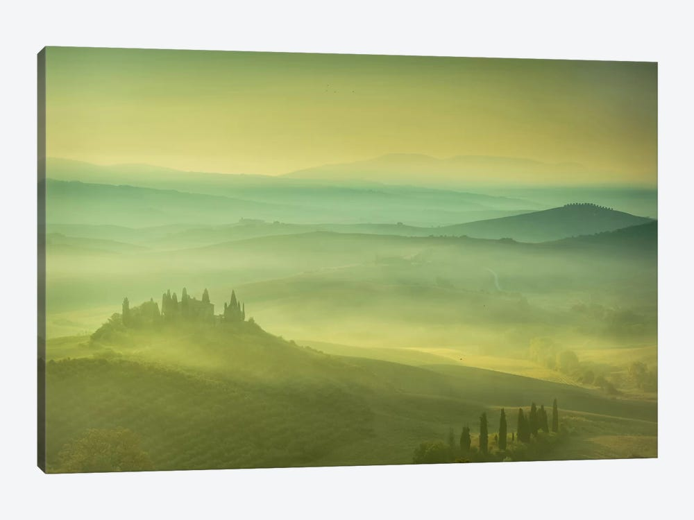 Magical Tuscany by Sergio Lanza 1-piece Art Print