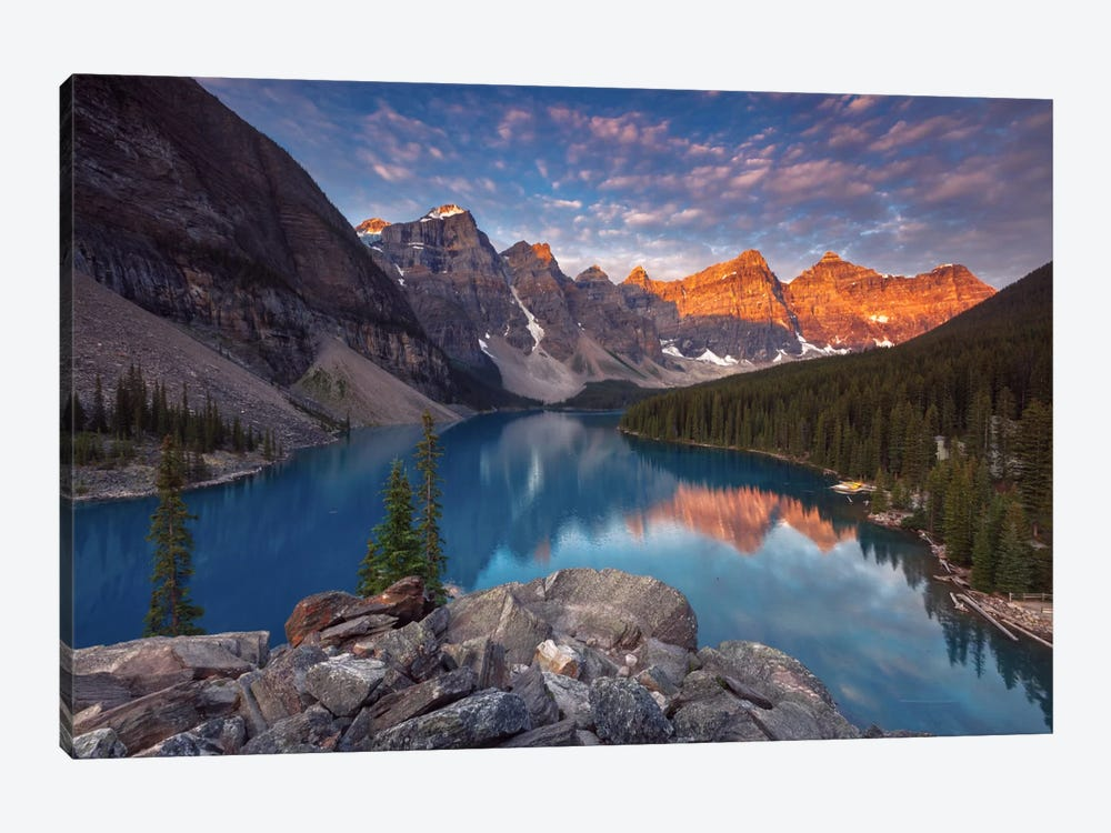 Moraine Lake by Sergio Lanza 1-piece Art Print